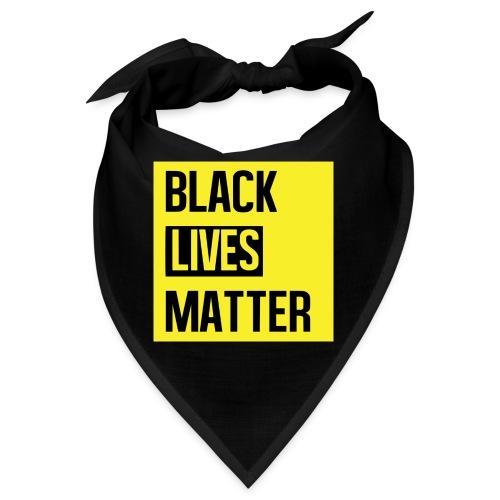 Black Lives Matter (yellow) - Bandana