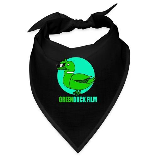 Greenduck Film Turkis blue sun Logo - Bandana