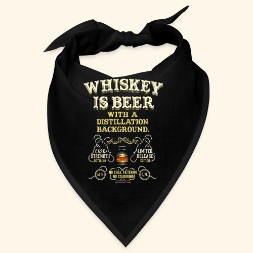 Whiskey Is Beer - Bandana