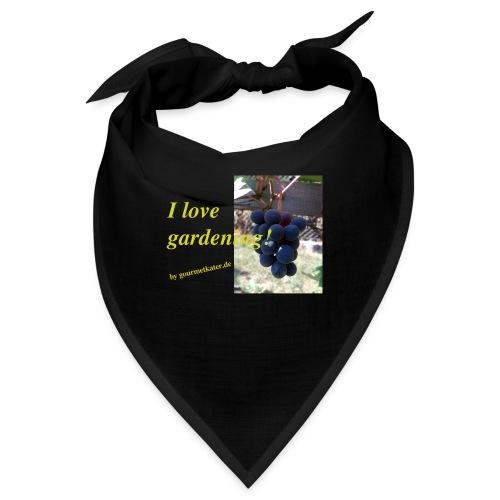 Weintraube - I love gardening - Bandana