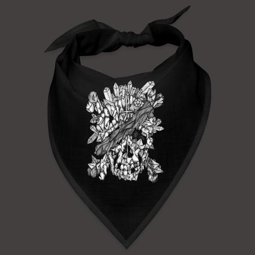Crane de Pirate de Cristal Noir et Blanc - Bandana