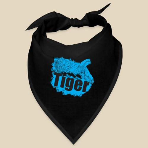 Blue Tiger - Bandana