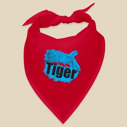 Blue Tiger - Bandana