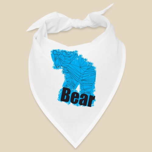 Blue Bear - Bandana