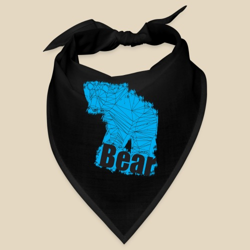 Blue Bear - Bandana