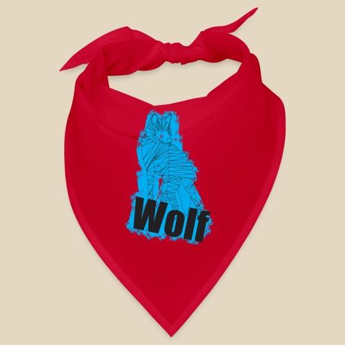 Blue Wolf - Bandana