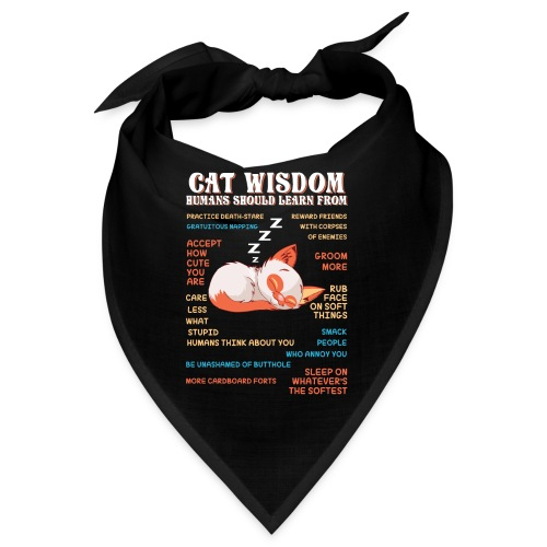 CAT WISDOM - Bandana