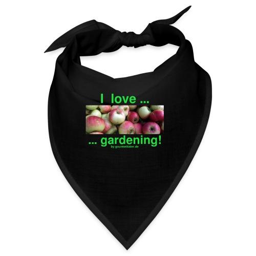 Äpfel - I love gardening! - Bandana
