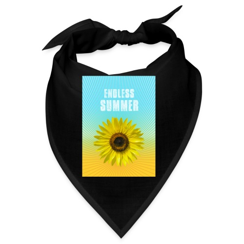 sunflower endless summer Sonnenblume Sommer - Bandana