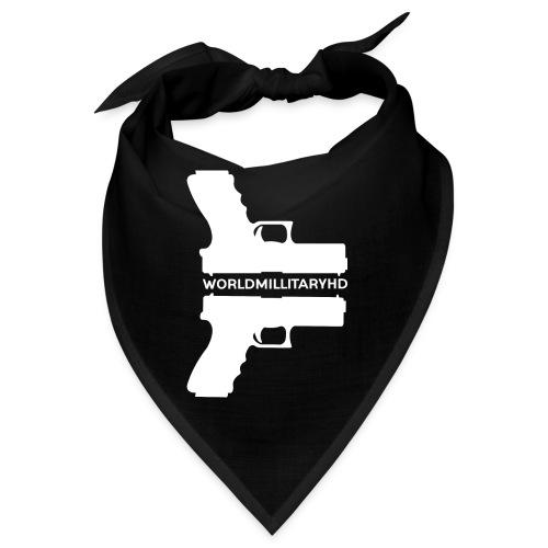 WorldMilitaryHD glock design (white) - Bandana