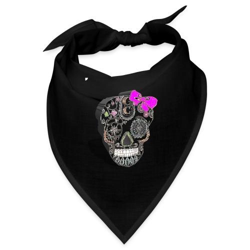 Tête de mort mexicaine 3D - Bandana