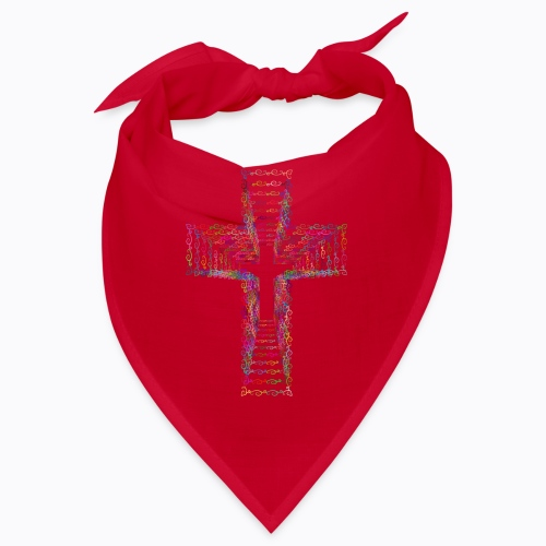 vintage cross - Bandana