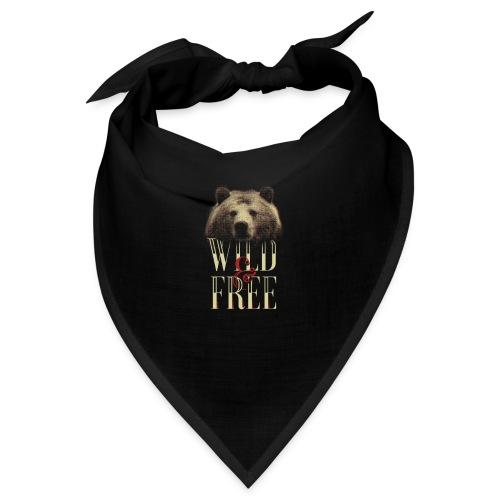 free tee wild free - Bandana