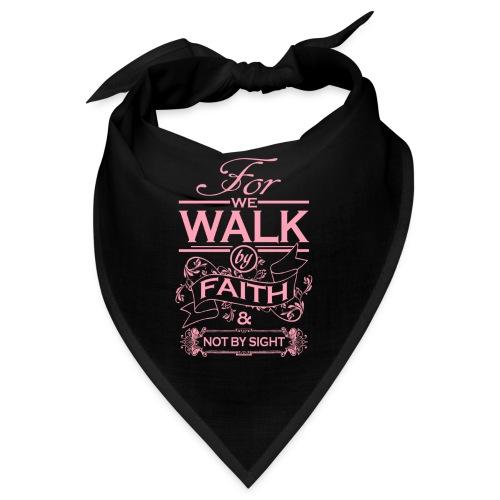 walk pink - Bandana