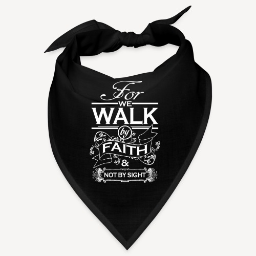 walk white - Bandana