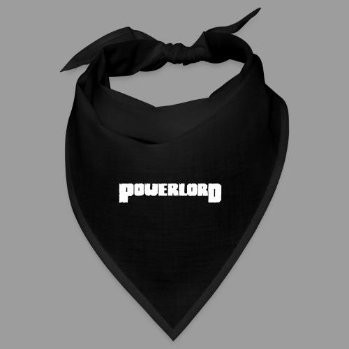 Powerlord Schriftzug - Bandana
