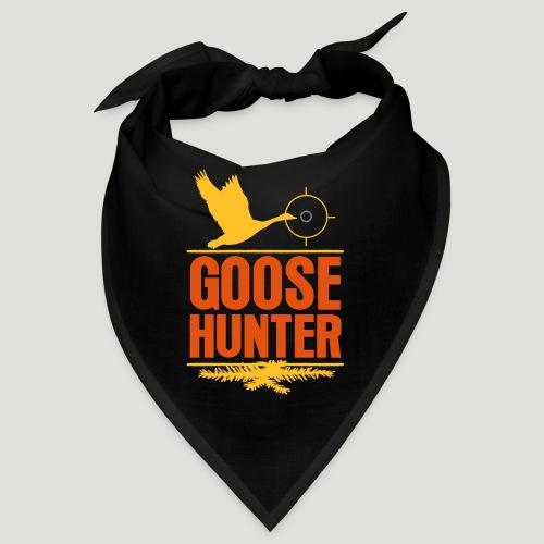 Jägershirt Gänse Jäger Goose Hunter Wildgans Jagd - Bandana