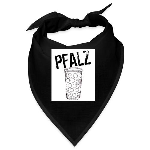 Pfalzshirt mit Dubbeglas, weiß - Bandana