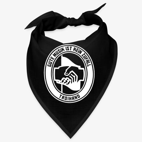 Logo Troihand invertiert - Bandana