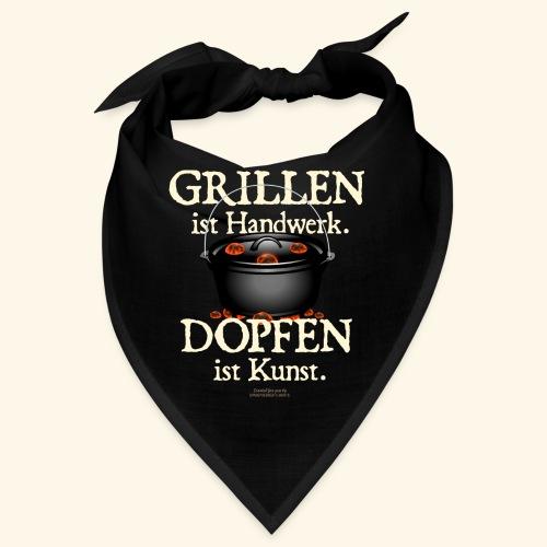 Dutch Oven T-Shirt Grillen Dopfen Dutch Oven Motiv - Bandana