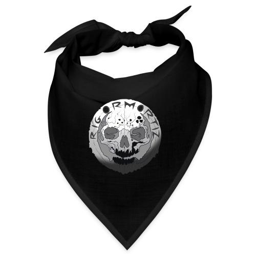 Rigormortiz Black and White Design - Bandana