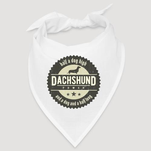 Dachshund Power - Bandana