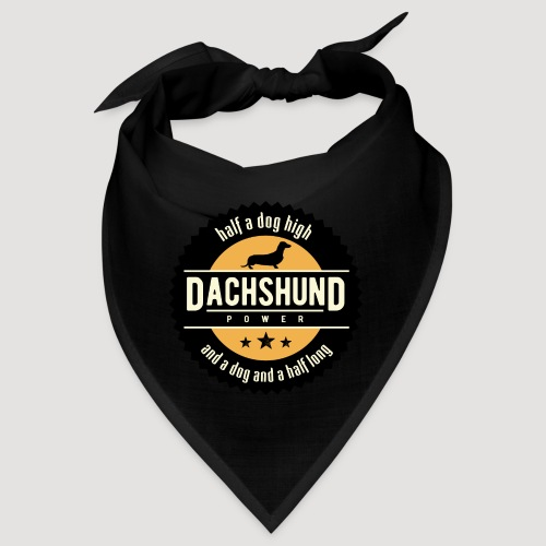 Dachshund Power - Bandana