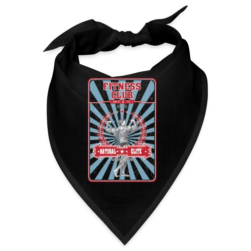 Fitness Club Retro Musculation - Bandana