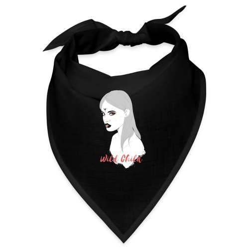 dark t shirt design female - Bandana