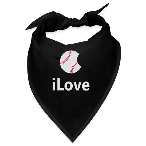 Baseball Logo iLove Baseball - Bandana