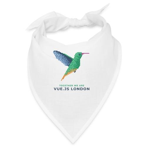 Hummingbird - Together we are Vue.js London - Bandana