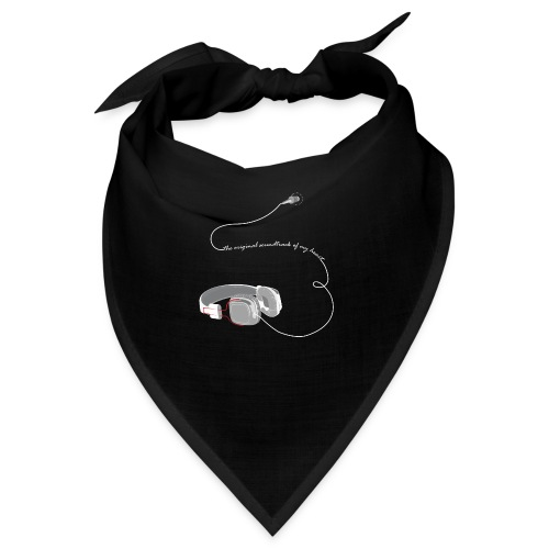 Tee shirt manches longues casque soundtrack - Bandana