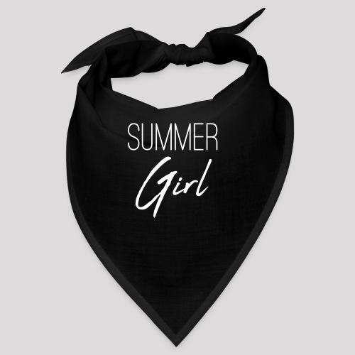 Summer Girl - Das Motiv für den Sommer - Bandana