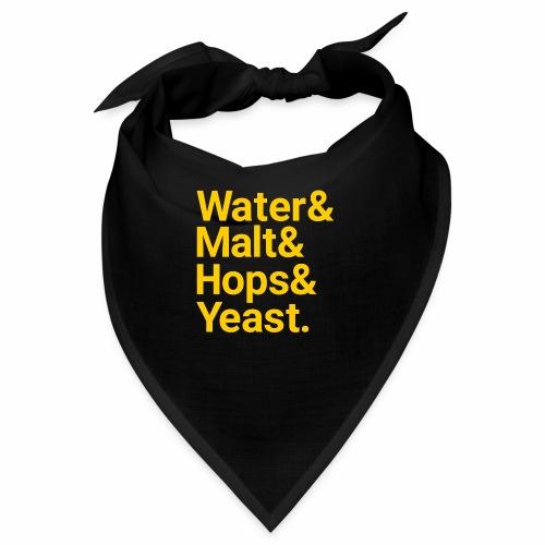 Water,Malt,Hops & Yeast - Bandana