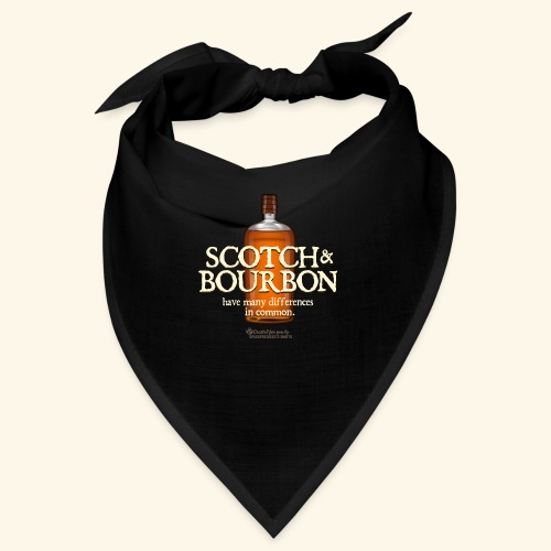 Whisky Spruch Scotch & Bourbon - Bandana