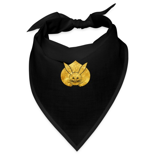 Usagi kamon japanese rabbit gold - Bandana