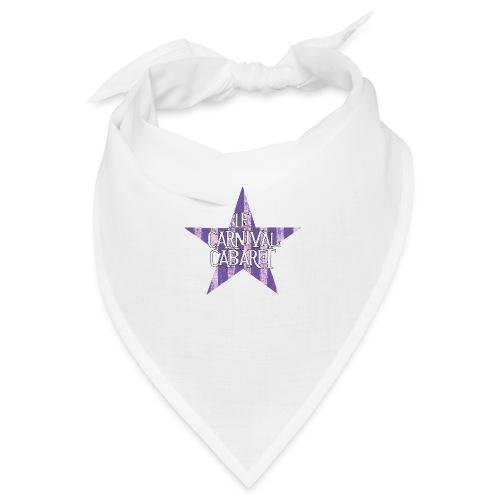bonnet LCC noir etoie violette - Bandana