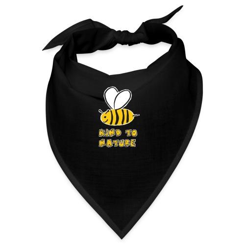 Bee kind to nature Bienen retten - Bandana