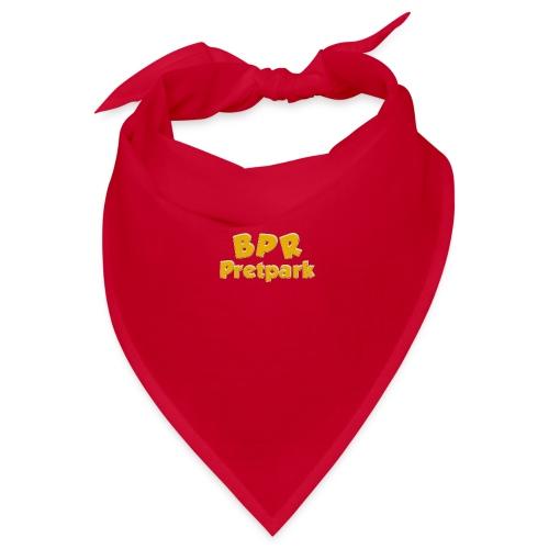 BPR Pretpark logo - Bandana