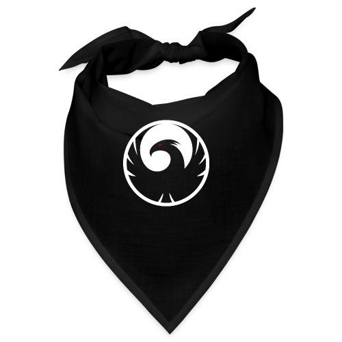 Phönix Logo Schattierung Phoenix weis white rund - Bandana