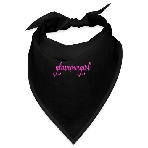 Glamourgirl dripping letters - Bandana