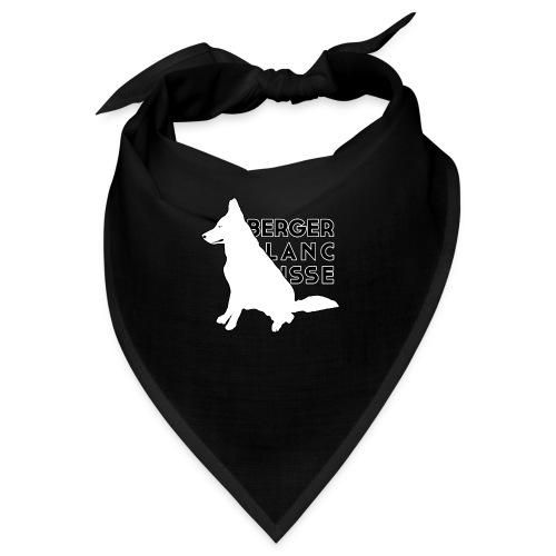 White Dog - Berger Black Suisse - Bandana