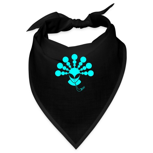 The Smoking Alien Light Blue - Bandana