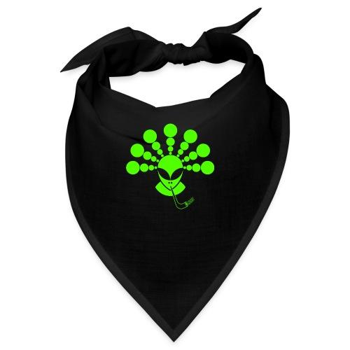 The Smoking Alien Green - Bandana
