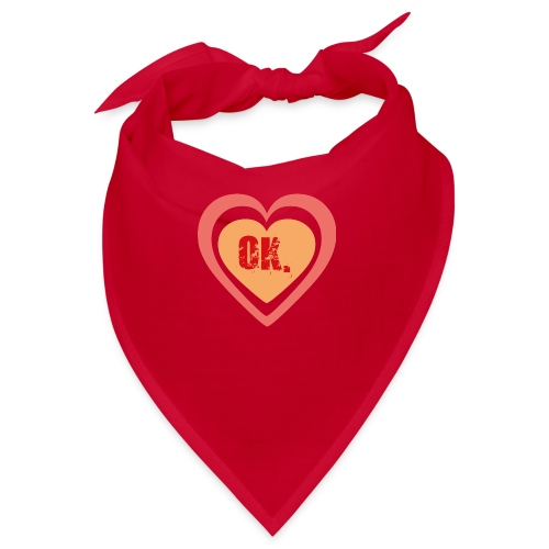 OK. heart - Bandana