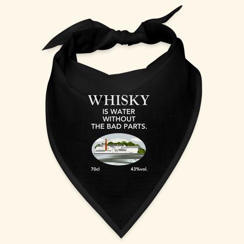 Whisky Is Water lustiger Spruch und Brennerei - Bandana