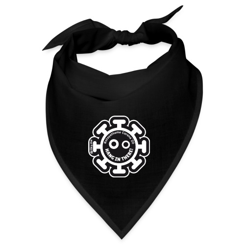 Corona Virus #stayathome black - Bandana
