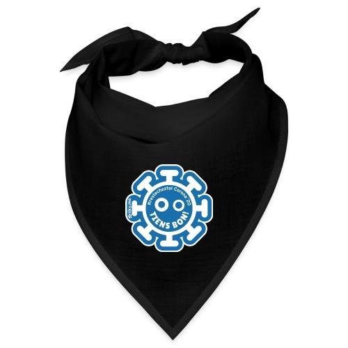 Corona Virus #restecheztoi bleu grigio - Bandana