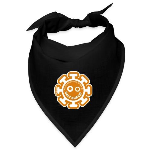 Corona Virus #WirBleibenZuhause orange - Bandana