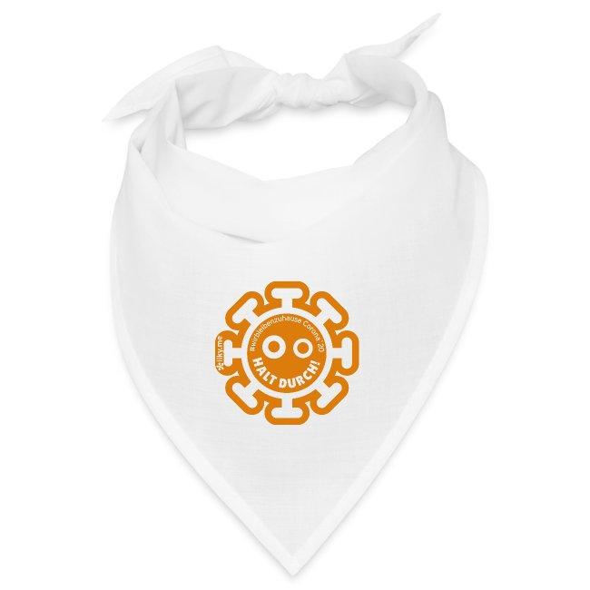 Corona Virus #WirBleibenZuhause arancione